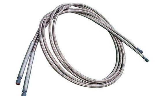 带法兰不锈钢金属软管型号