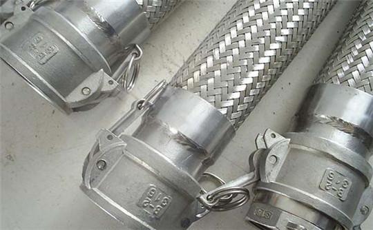 钢厂冲渣用铠装金属软管价格